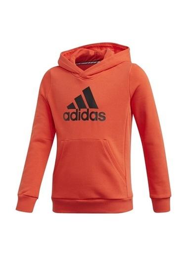 adidas Unisex Çocuk Yb Mh Bos Sweatshirt GE0692 Oranj